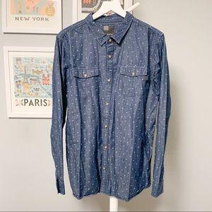 O'Neill Patterned Button-Down Shirt XL